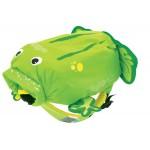 Nepremokavý ruksak - Žaba (zelený 7.5L)
