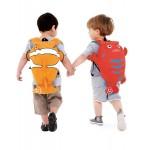 Nepremokavý ruksak - Morský rak (červený 7.5L)