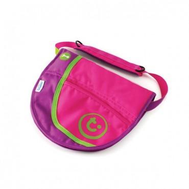 Taška Saddlebag 2v1 - Ružová