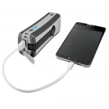 Nabíjacia batéria 6000 (dynamo, solár, USB)