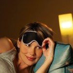 Očná maska s pružným pásikom Nightshade