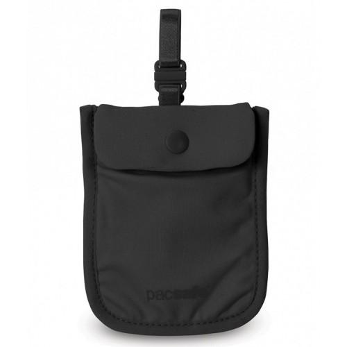 Dámska skrytá kapsa Coversafe S25 Bra Pouch black