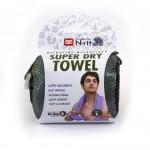SUPER DRY TOWEL L ZELENÝ