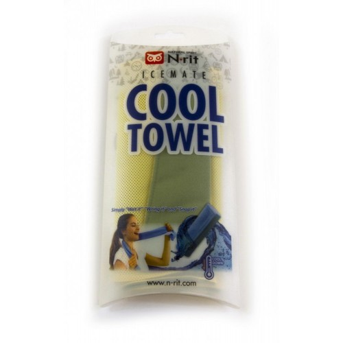 ICEMATE COOL TOWEL TWIN ZELENÝ/ŽLTÝ