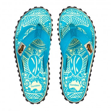Žabky Gumbies - Turquoise, dámske