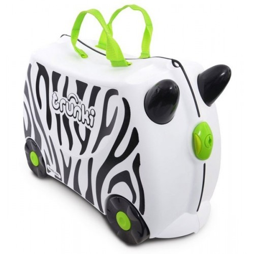 Cestovný kufrík TRUNKI - Zebra